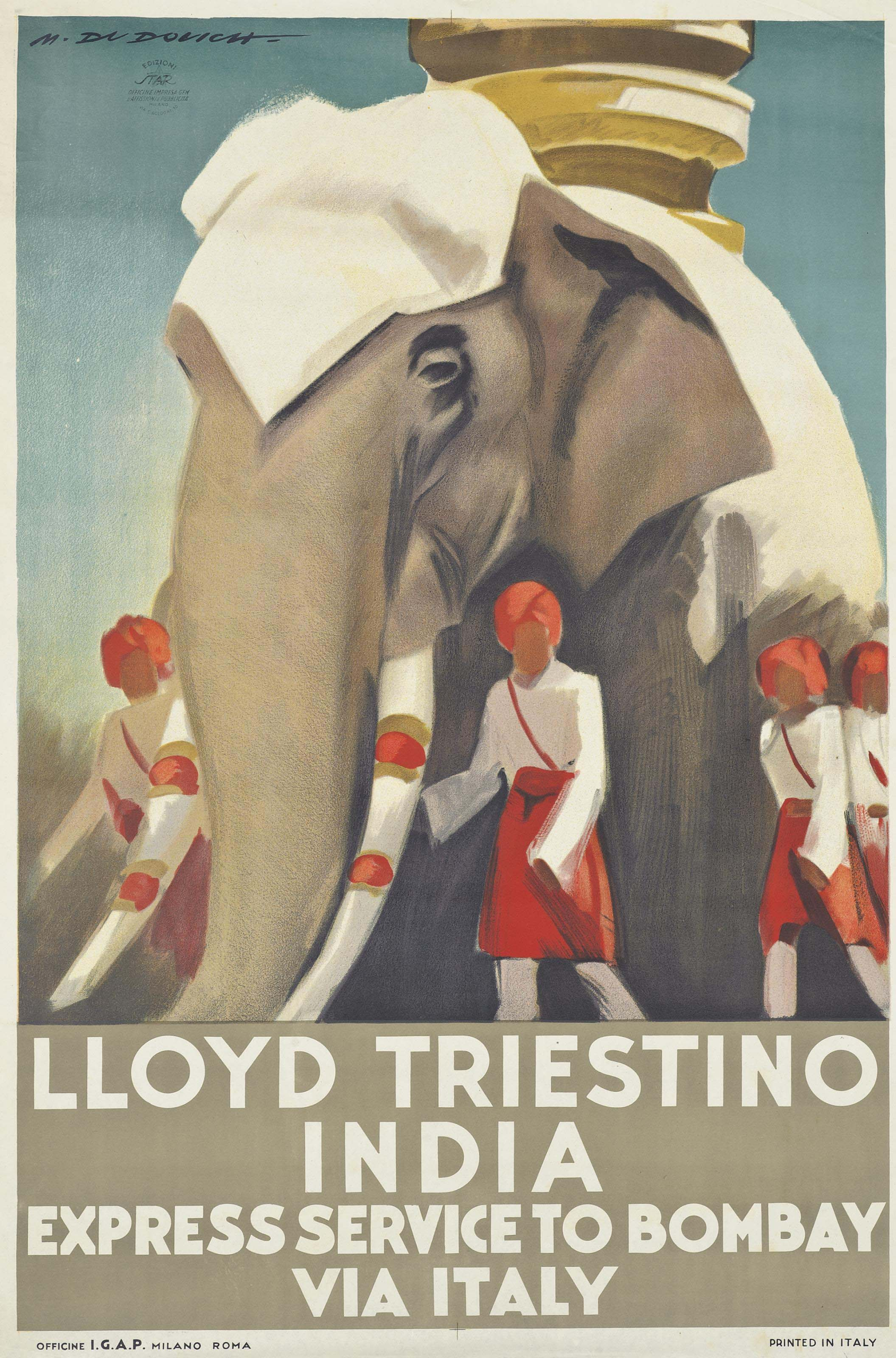 LLOYD TRIESTINO INDIA