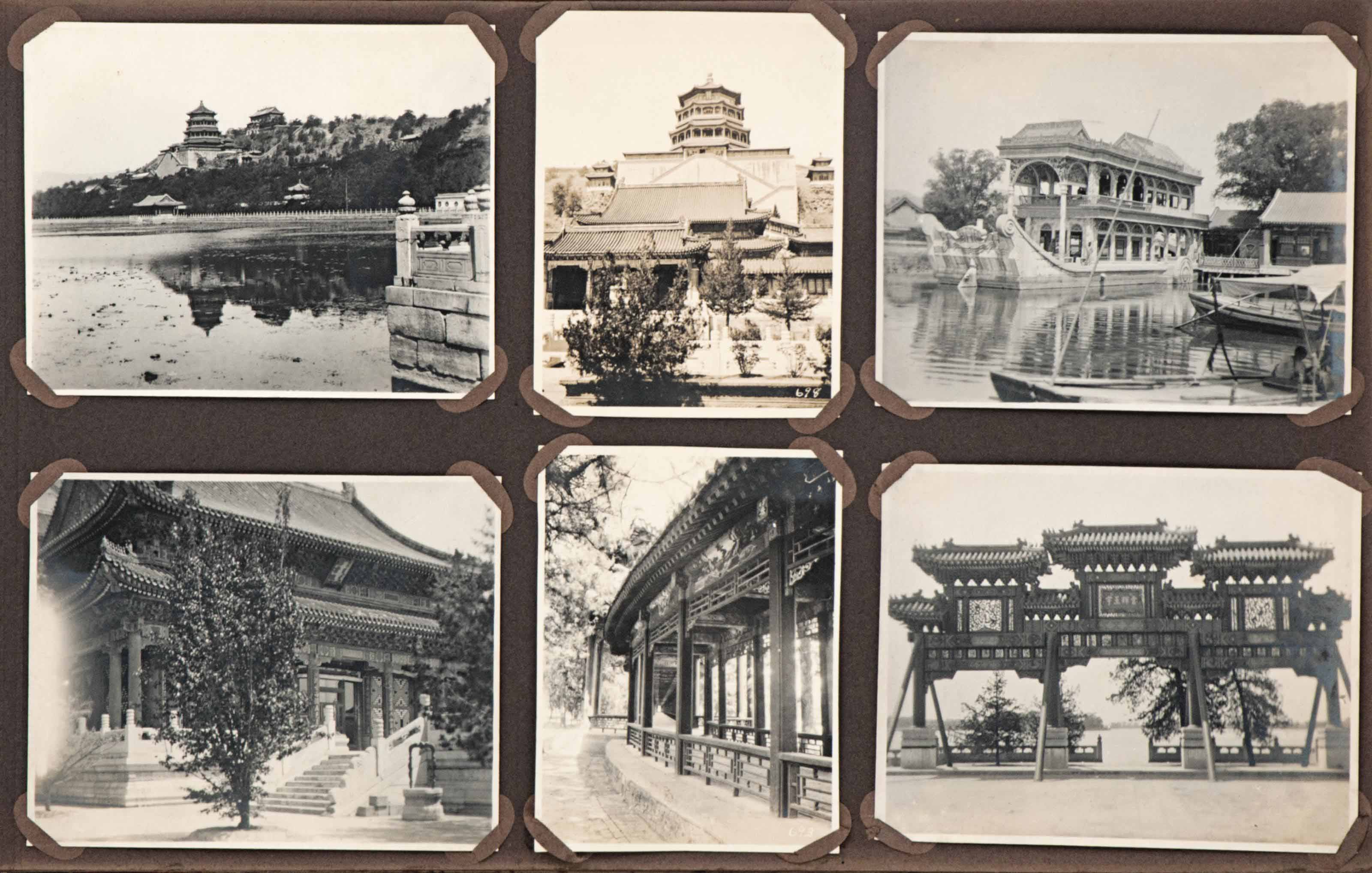 AN ALBUM OF CHINESE PHOTOGRAPH