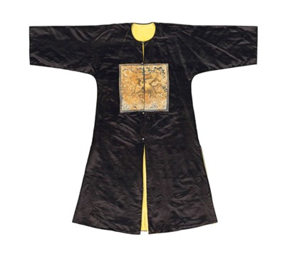 A CHINESE SURCOAT, BUFU, WITH