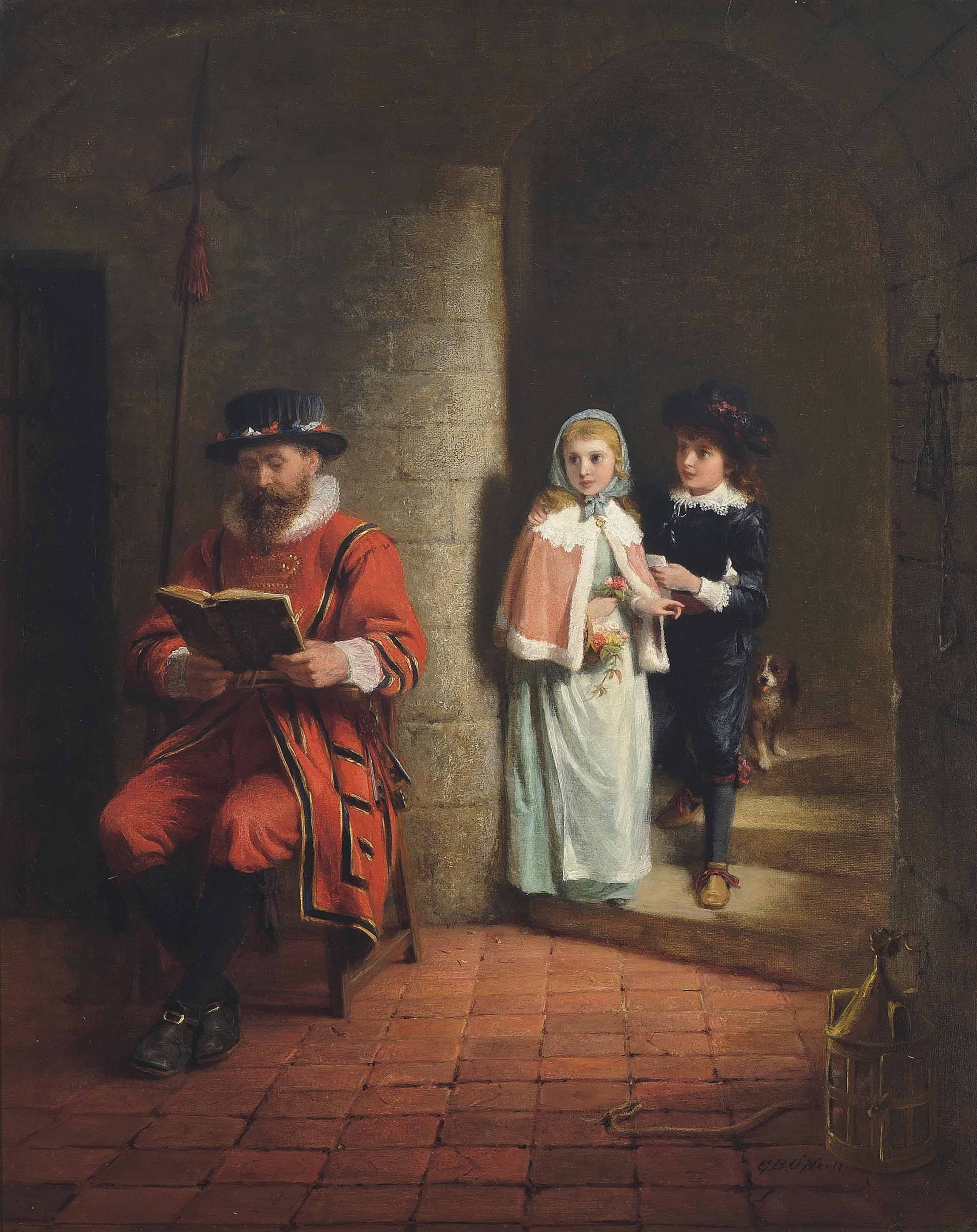 Children at the Tower