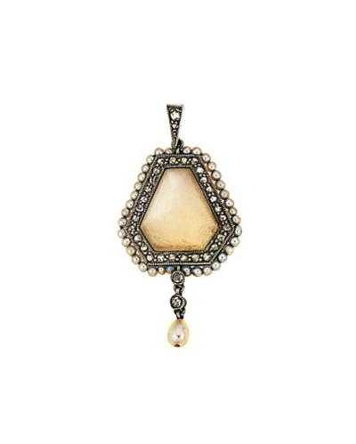 A Belle Epoque moonstone, diam