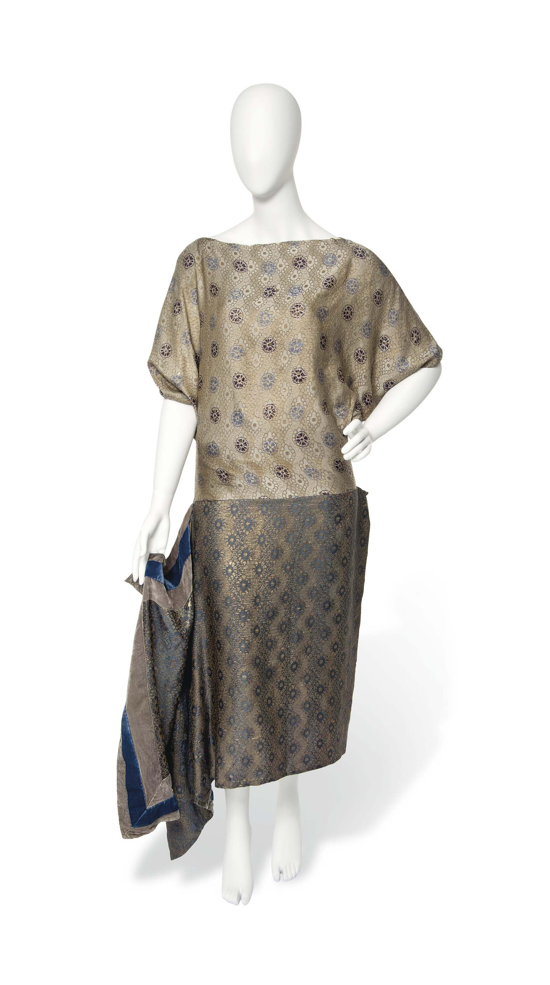 A RARE PAUL POIRET TUNIC DRESS