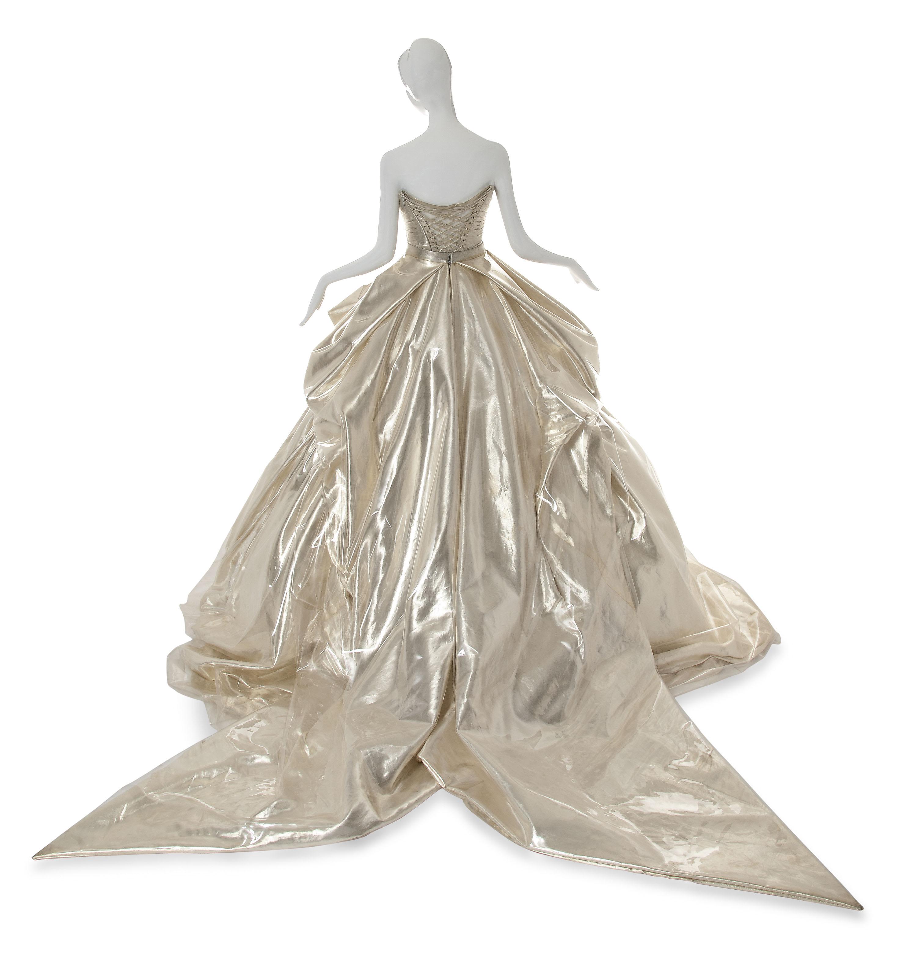 CINDERELLA, A VERSACE GOWN OF GOLD SILK | 2012 | 21st Century, dress ...