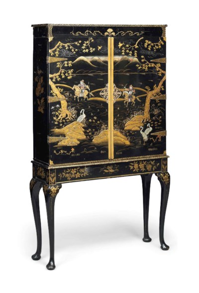 AN ENGLISH CHINOISERIE-JAPANNE