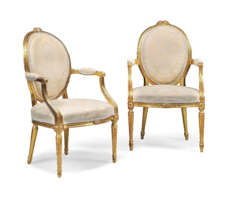 A MATCHED PAIR OF GEORGE III G