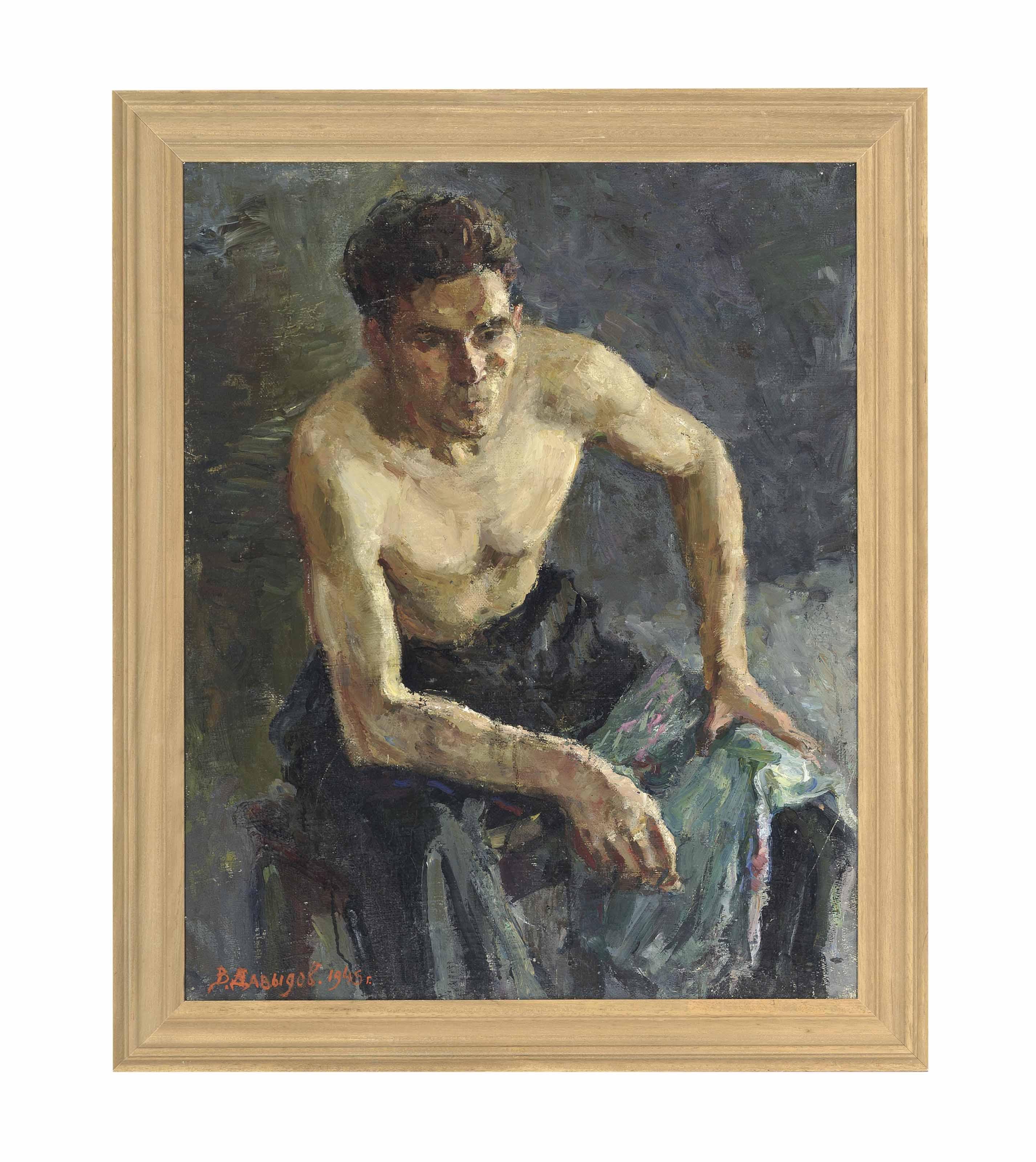 Vitali Davydov, circa 1945