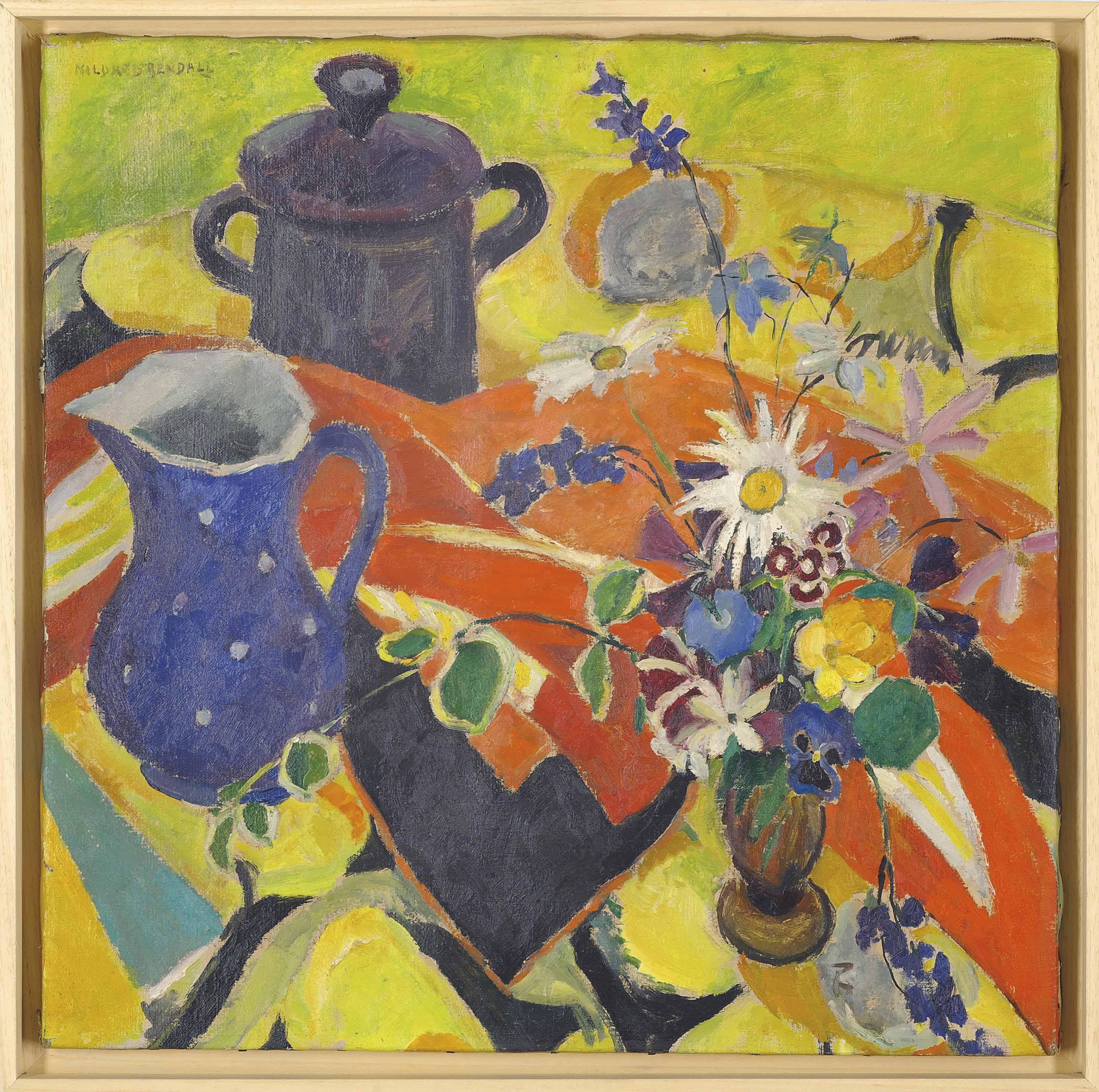 The blue jug