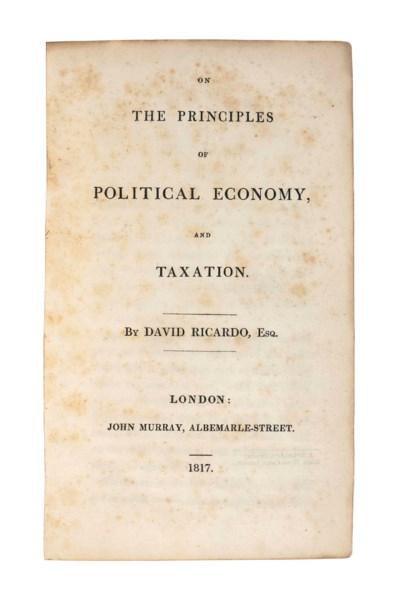 RICARDO, David (1772-1823). On