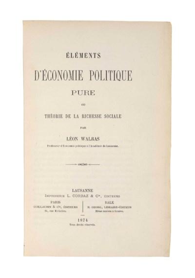 WALRAS, Marie Esprit Léon (183