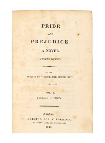 AUSTEN, Jane (1775-1817). Prid
