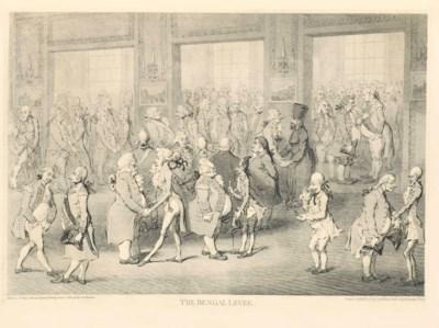 GILLRAY, James (1757-1815). Th