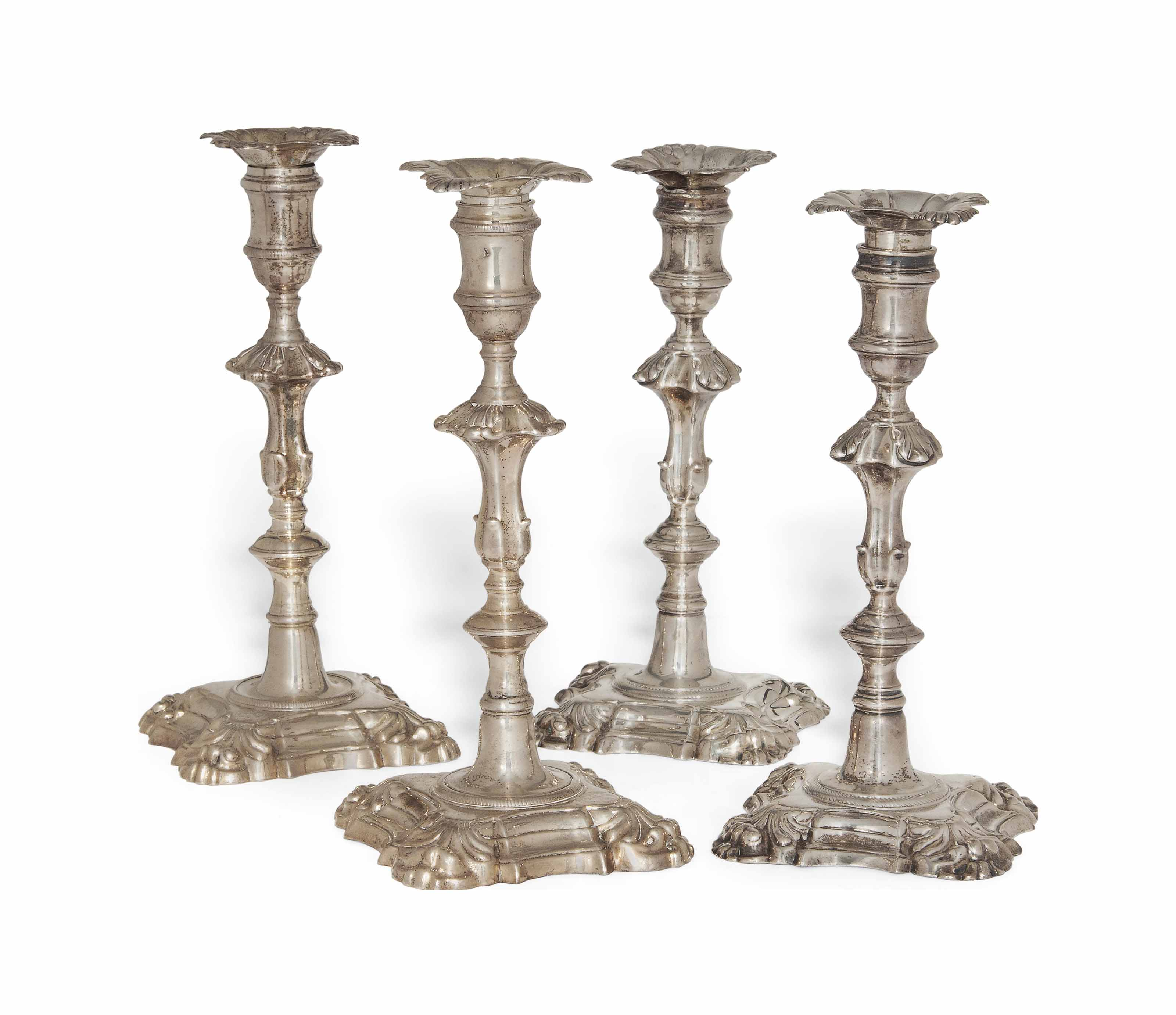 A MATCHED SET OF FOUR GEORGE I