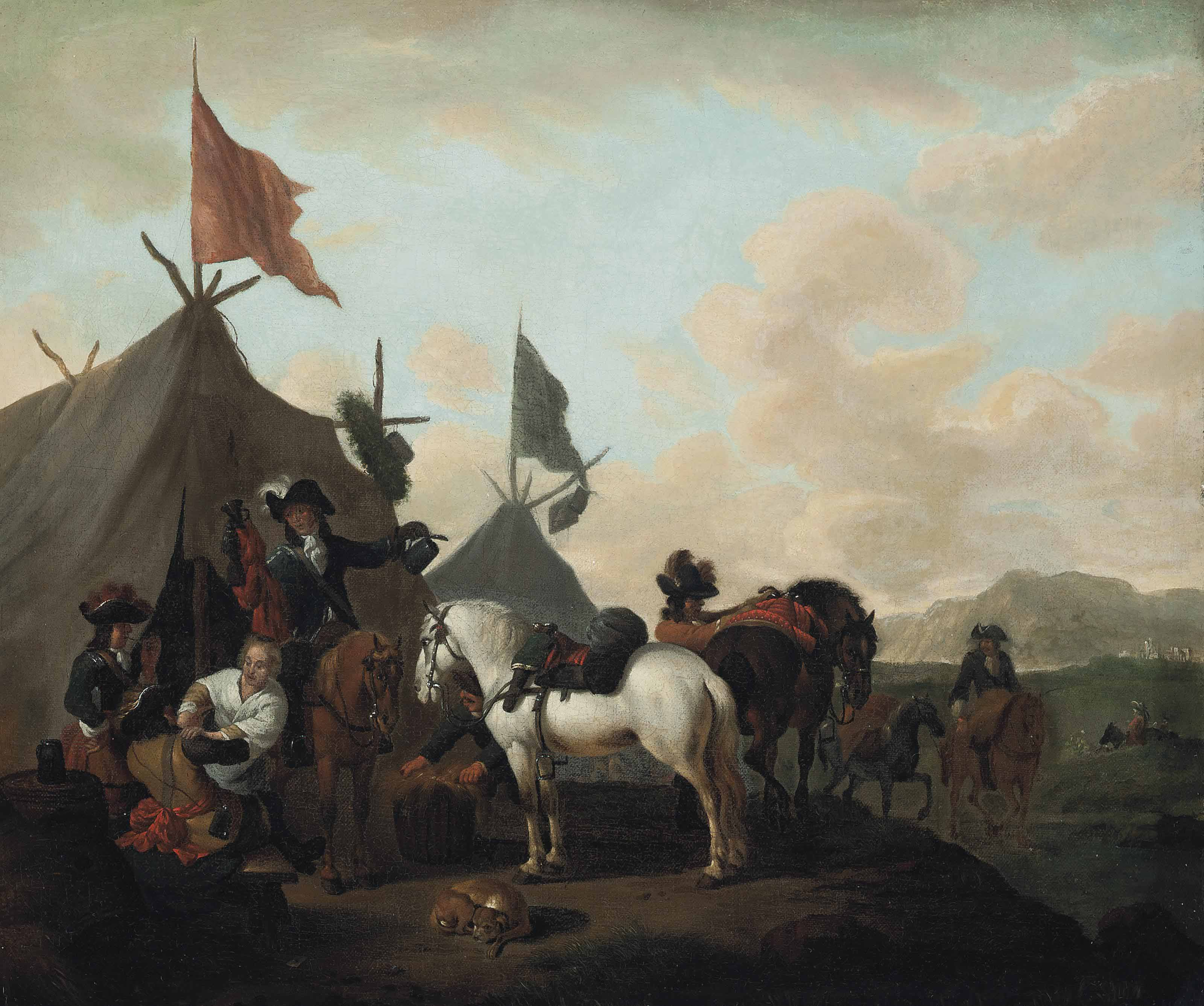 Evert Oudendijck (c. 1648-1695