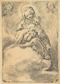 Virgin and Child in the Clouds (Bartsch 2)