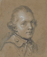 Portrait of a young man, traditionally identified as the miniaturist Heinrich Friedrich Füger (1751-1818)