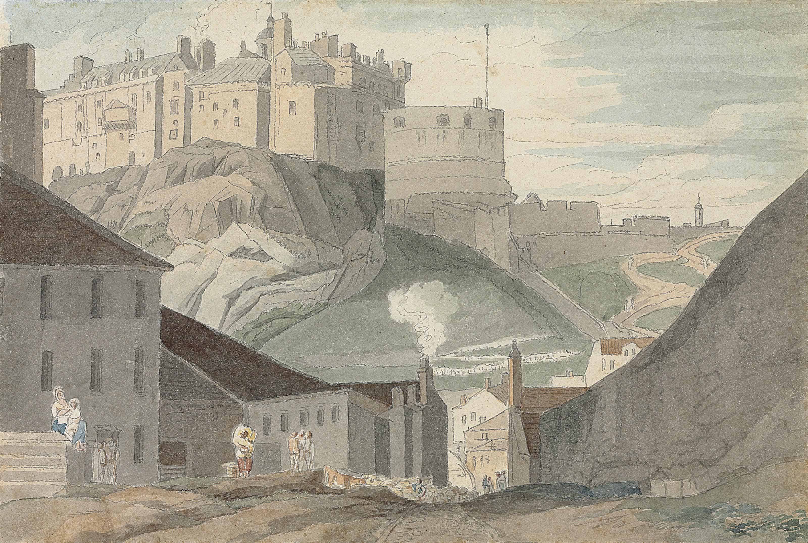 Edinburgh Castle from the south