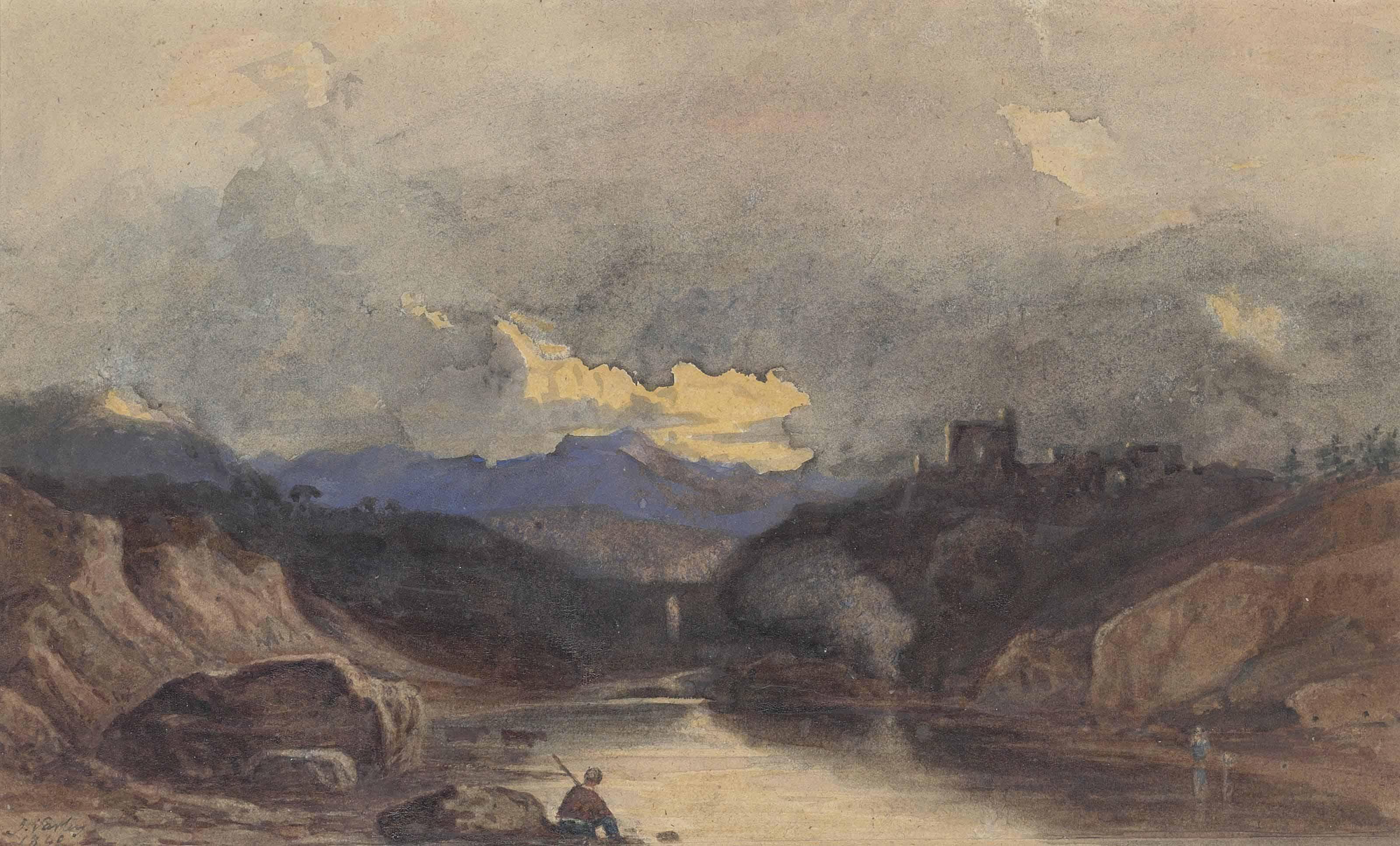 John Varley, O.W.S. (Hackney 1