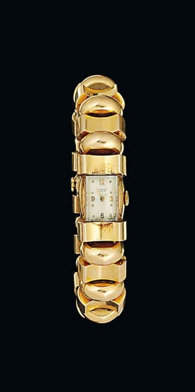 A lady's bracelet watch, by IW