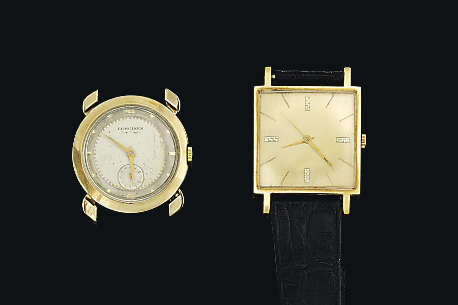 A 9ct gold pen, by Cartier, an