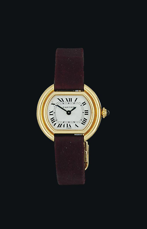 A lady's 'Ellipse' wristwatch,