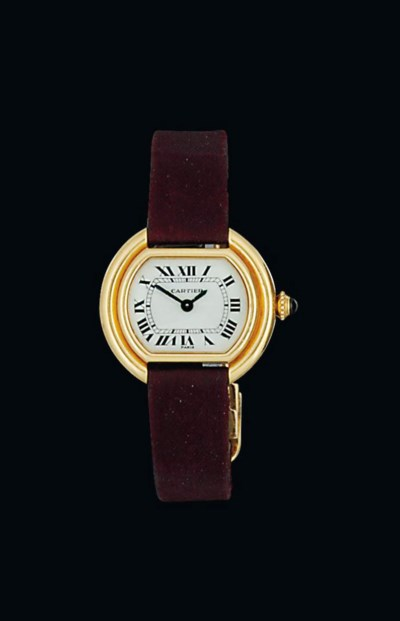 A lady's 'Ellipse' wristwatch,