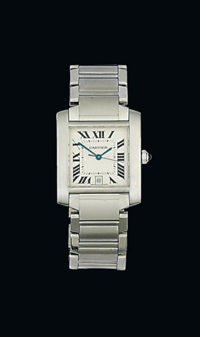 A stainless steel automatic 'T