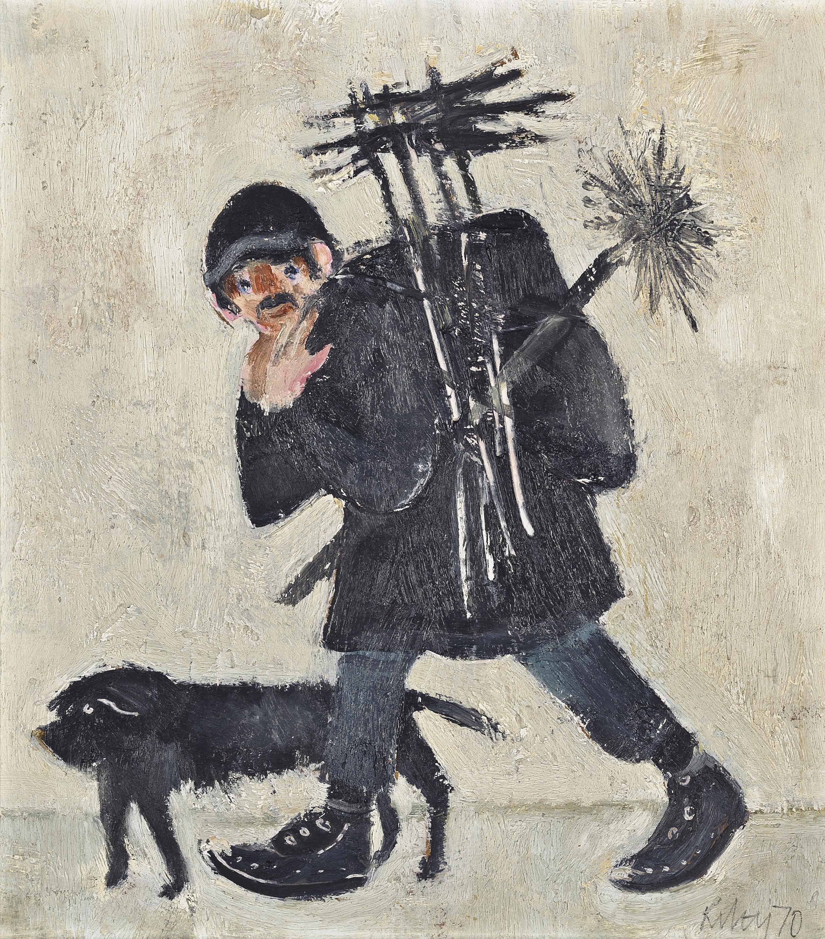 Bill Flood, the chimney sweep