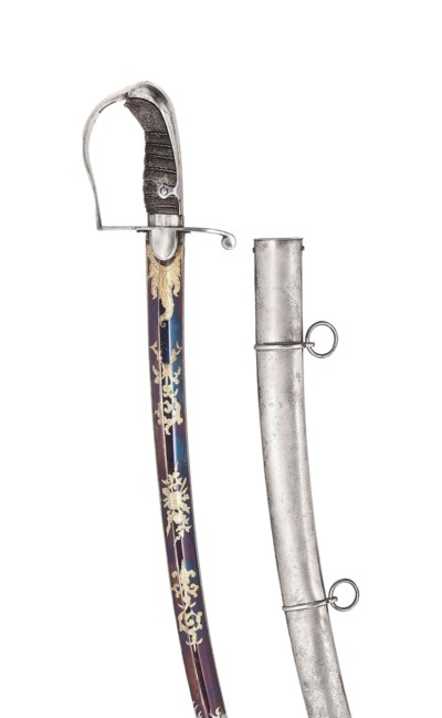 A FINE BRITISH OFFICER'S LIGHT CAVALRY SABRE OF 1796