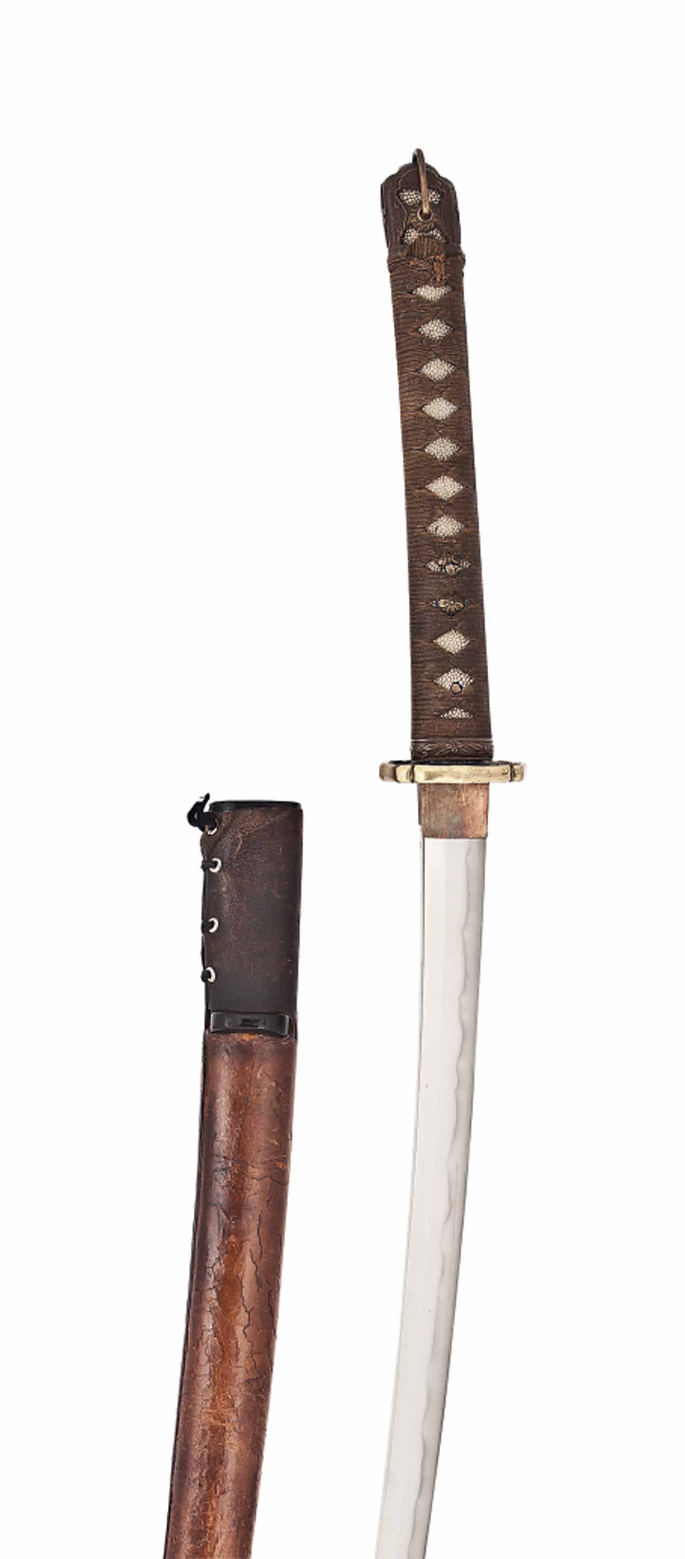 A JAPANESE OFFICER'S SWORD (GUNTO)