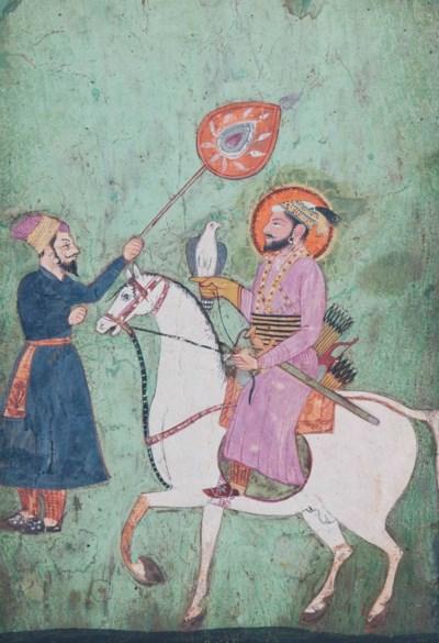 GURU GOBIND SINGH ON HORSEBACK