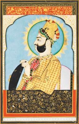 A PORTRAIT OF A MAHARAJA OF JA