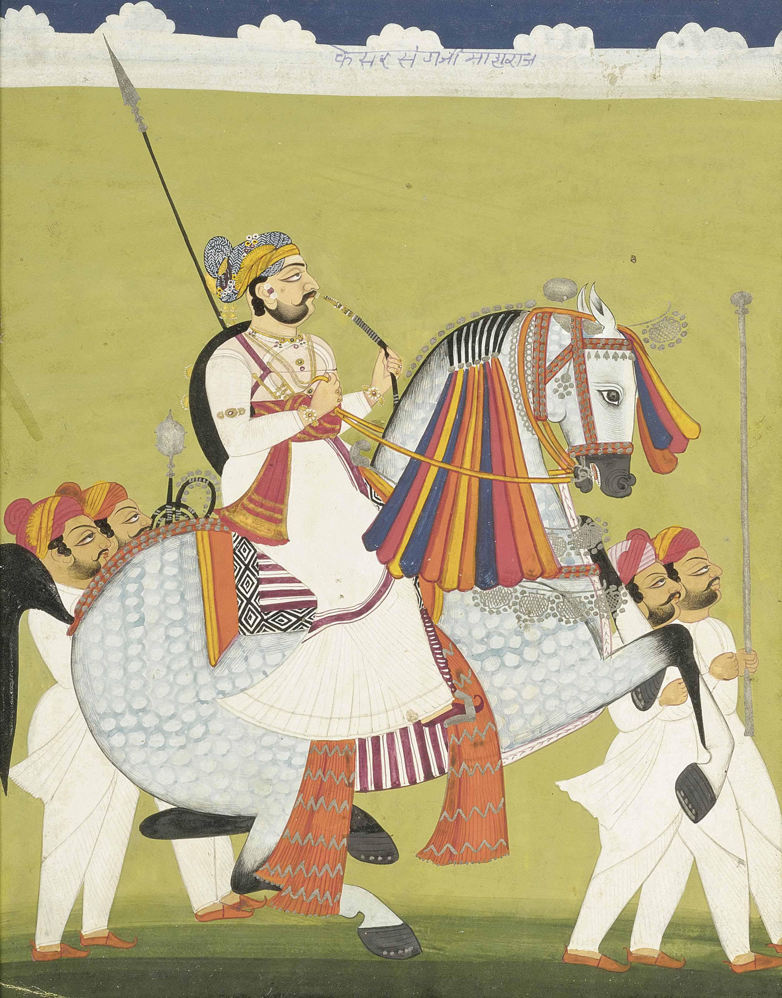 A RULER ON HORSEBACK, POSSIBLY