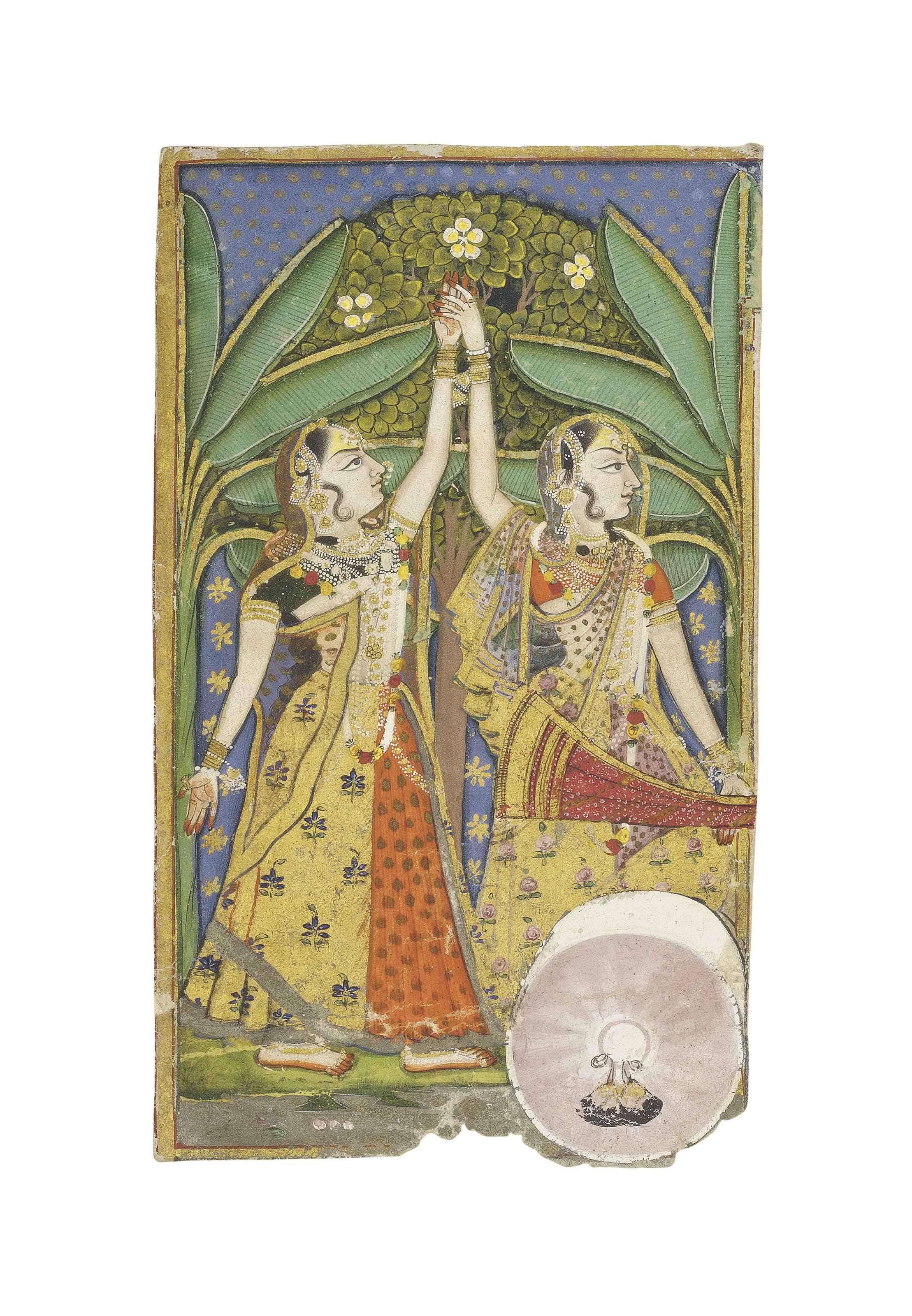 TWO DANCING LADIES