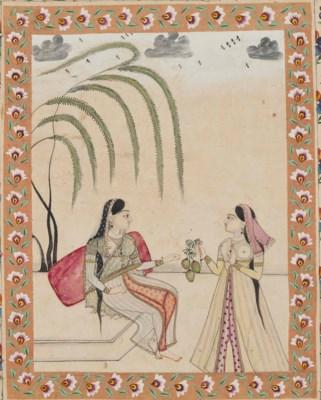TWO LADIES SHARING MANGOS
