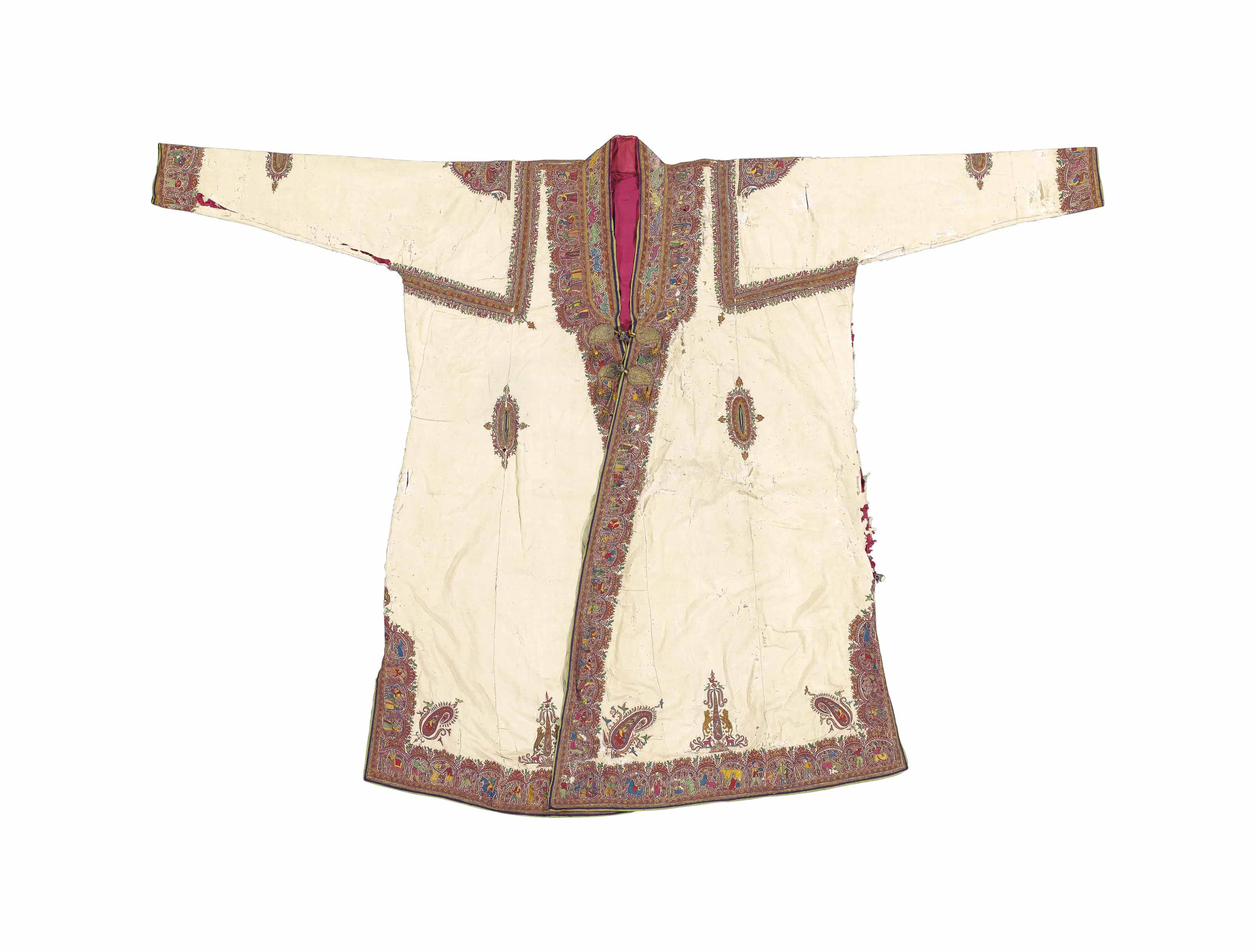 AN EMBROIDERED COAT