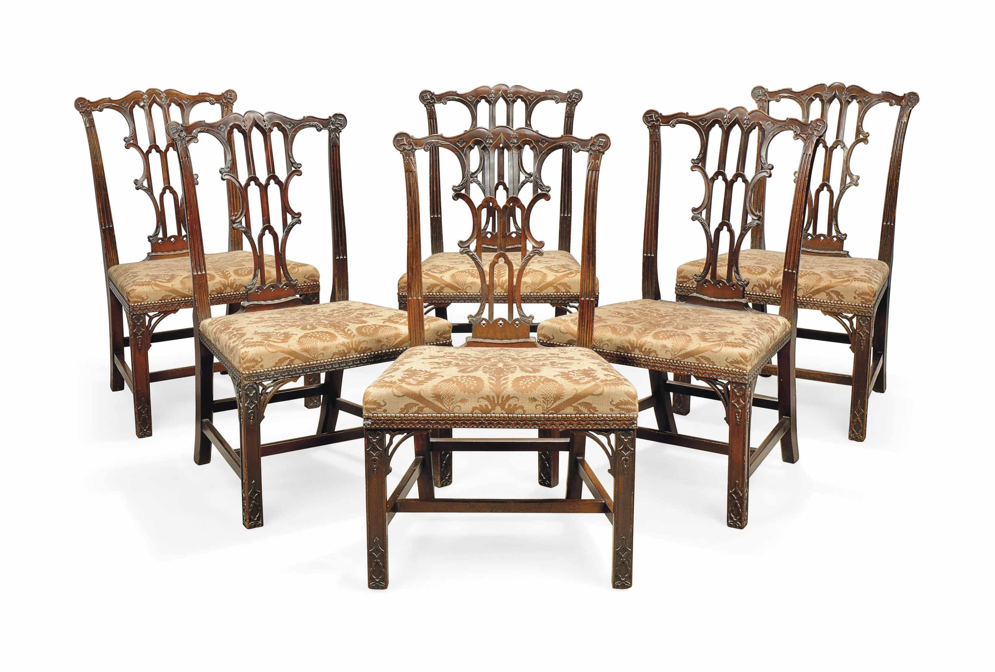 A SET OF SIX LATE VICTORIAN MA