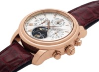 BLANCPAIN. A VERY FINE AND RARE 18K PINK GOLD LIMITED EDITION AUTOMATIC PERPETUAL CALENDAR SPLIT-SECONDS FLYBACK CHRONOGRAPH TOURBILLON WRISTWATCH SIGNED BLANCPAIN, QUATTRO MODEL, MOVEMENT NO.34, CASE NO.35, CIRCA 2004