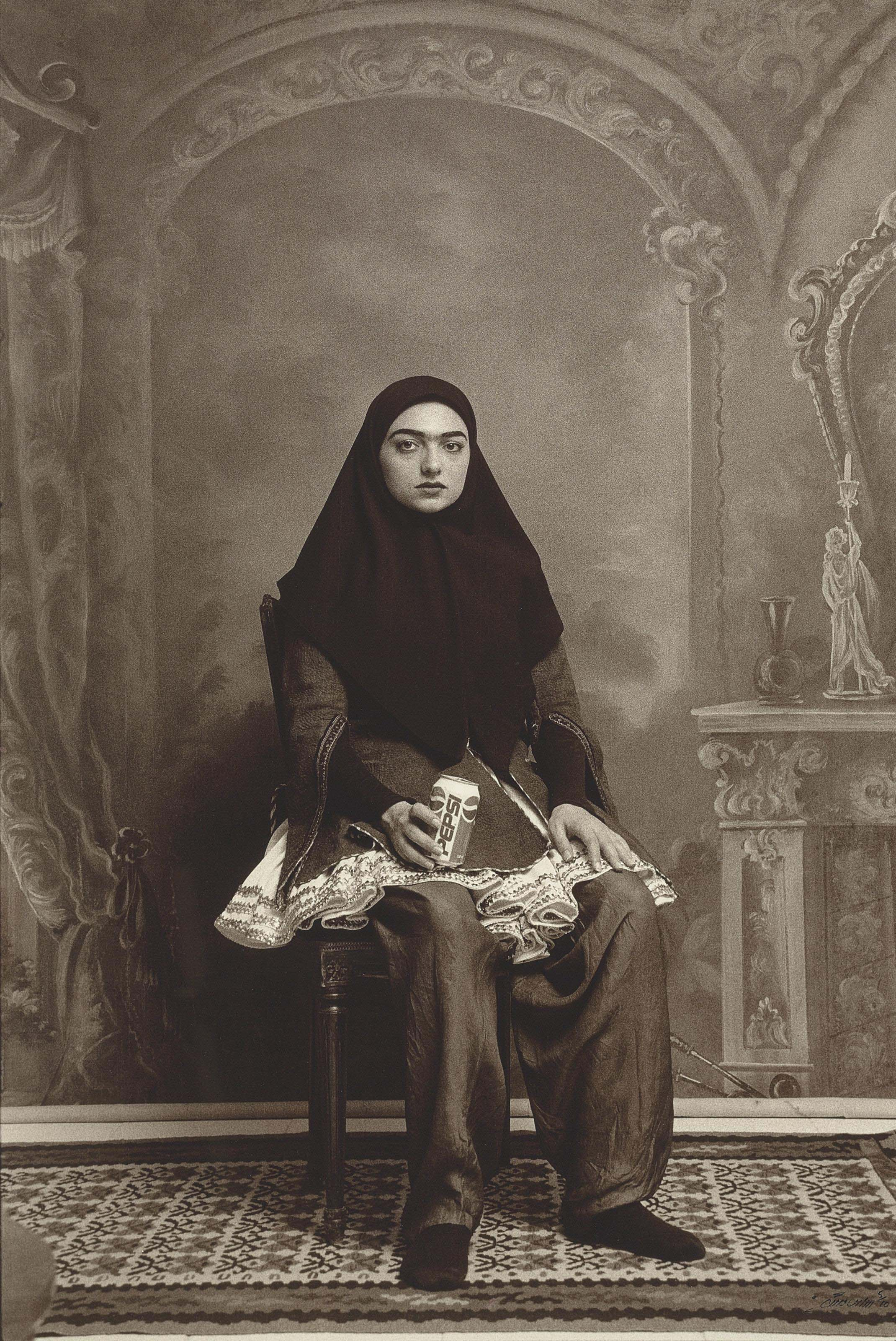 Untitled (from the Qajar series)