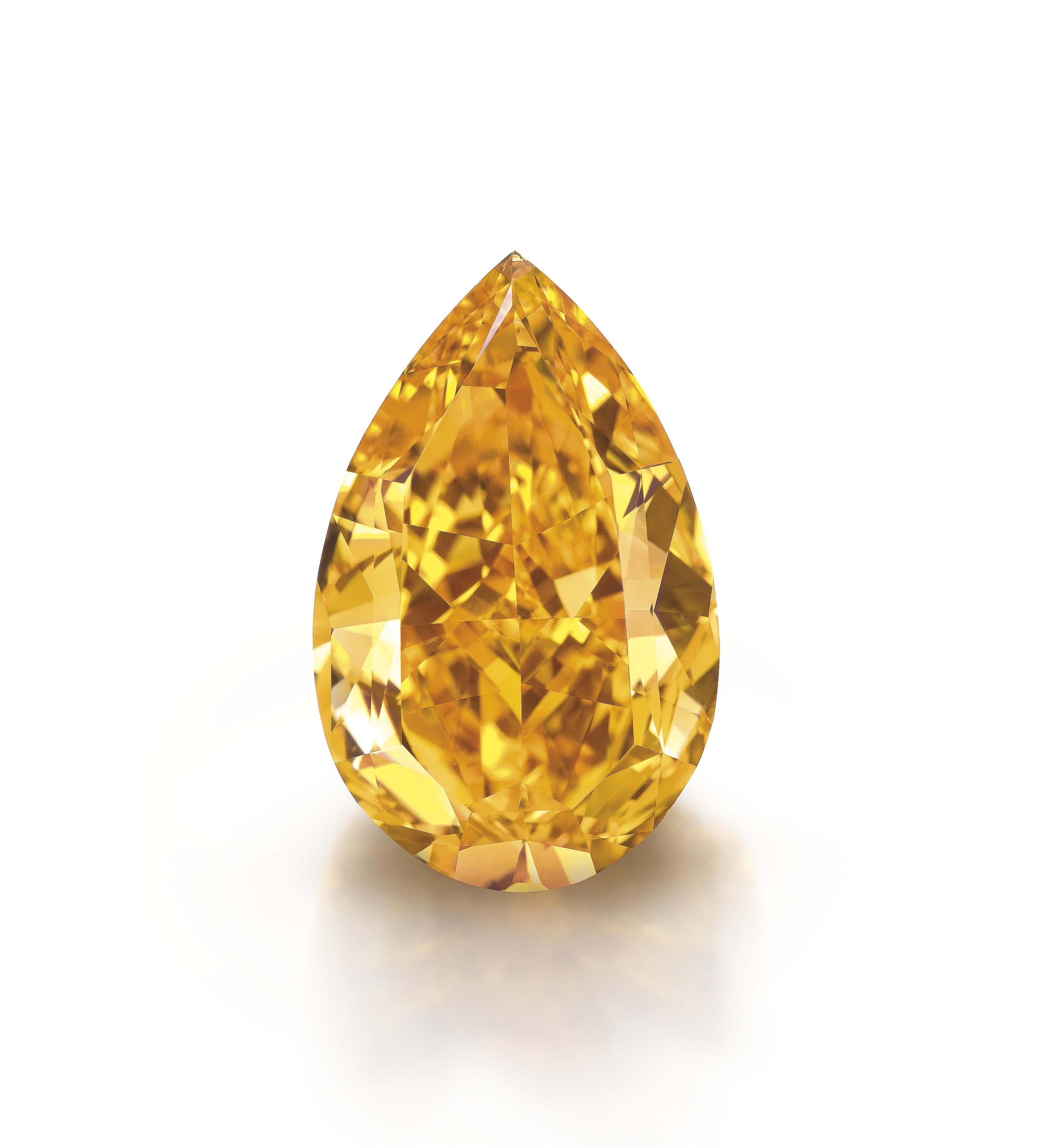THE ORANGE: THE LARGEST FANCY VIVID ORANGE DIAMOND IN THE WORLD