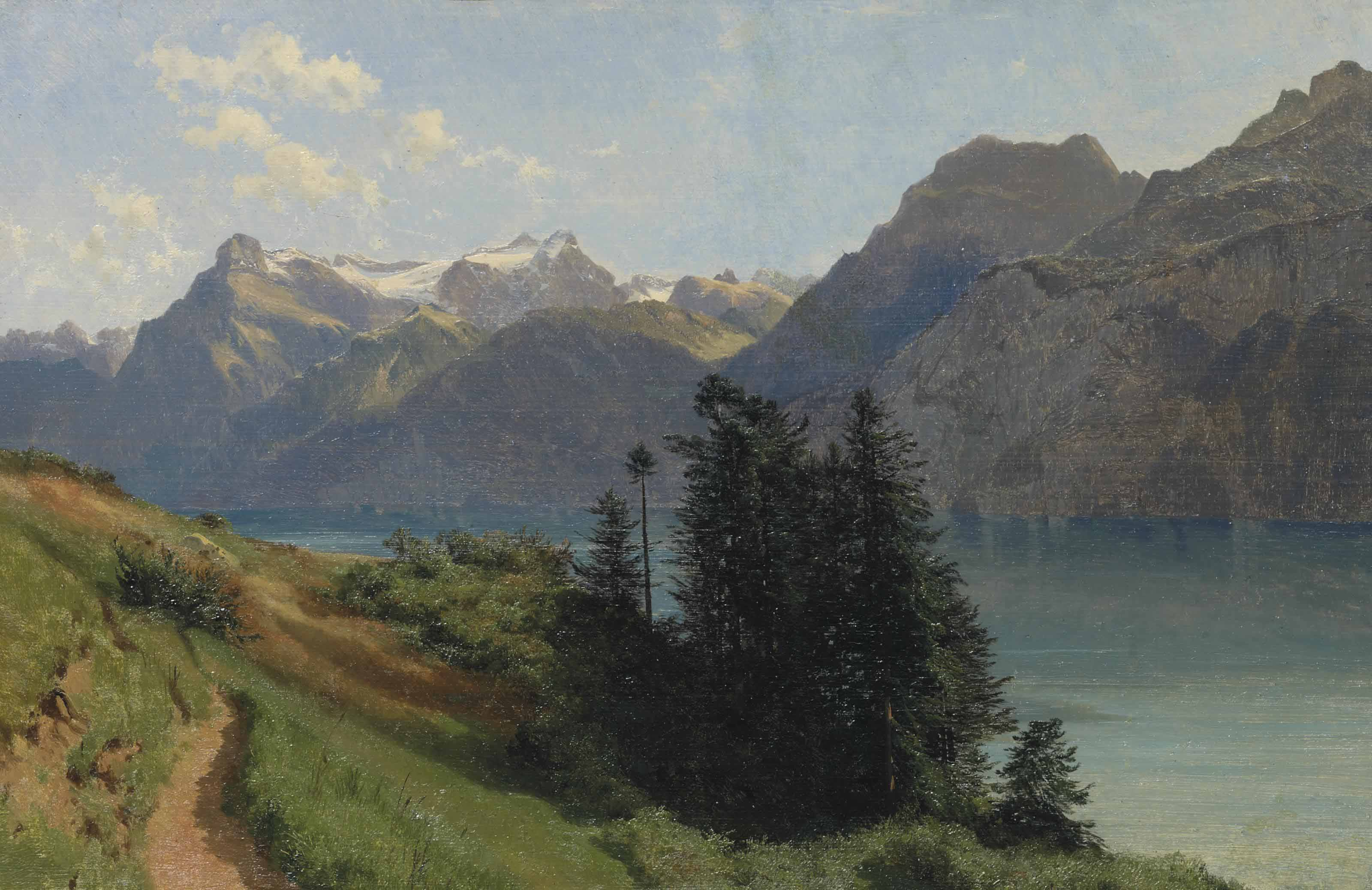 Lac des Quatre-Cantons et Urirotstock, 1857-61