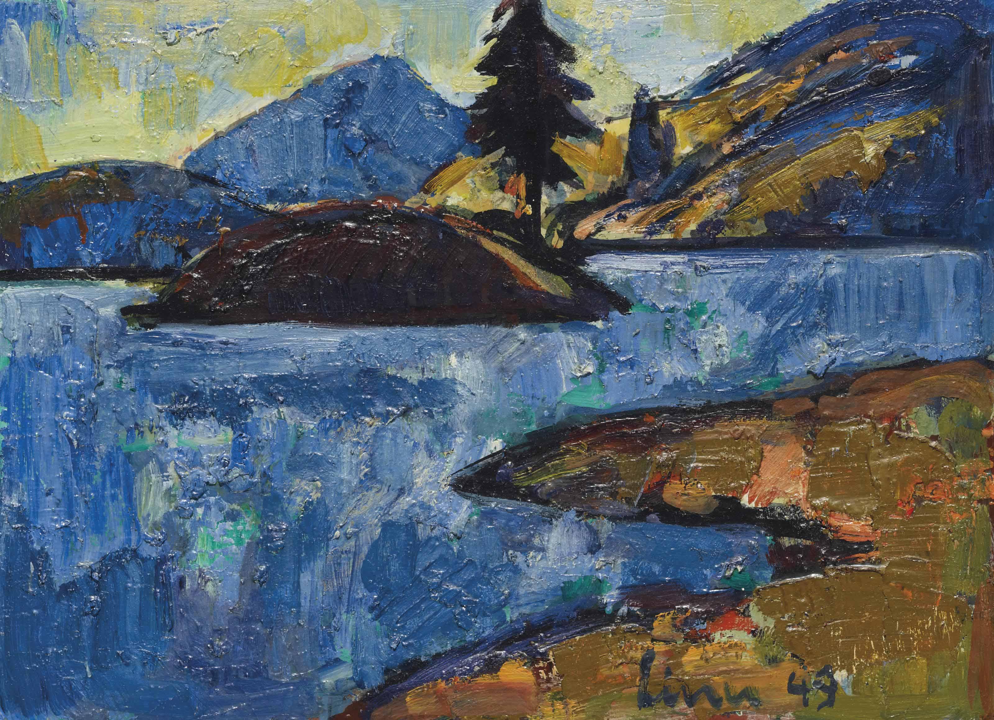 Val Viola, 1949