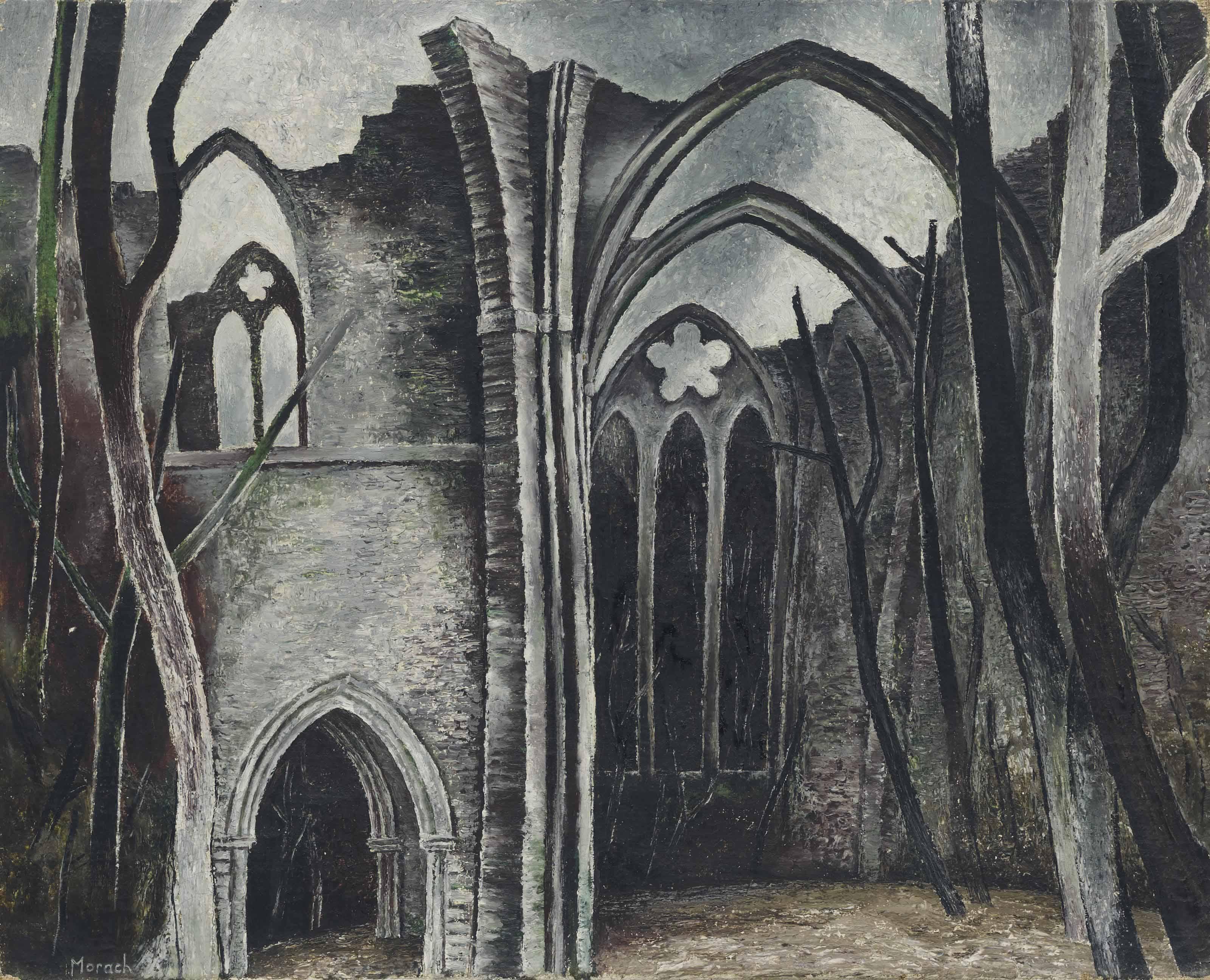 Klosterruine (auch: Die Ruine), um 1930
