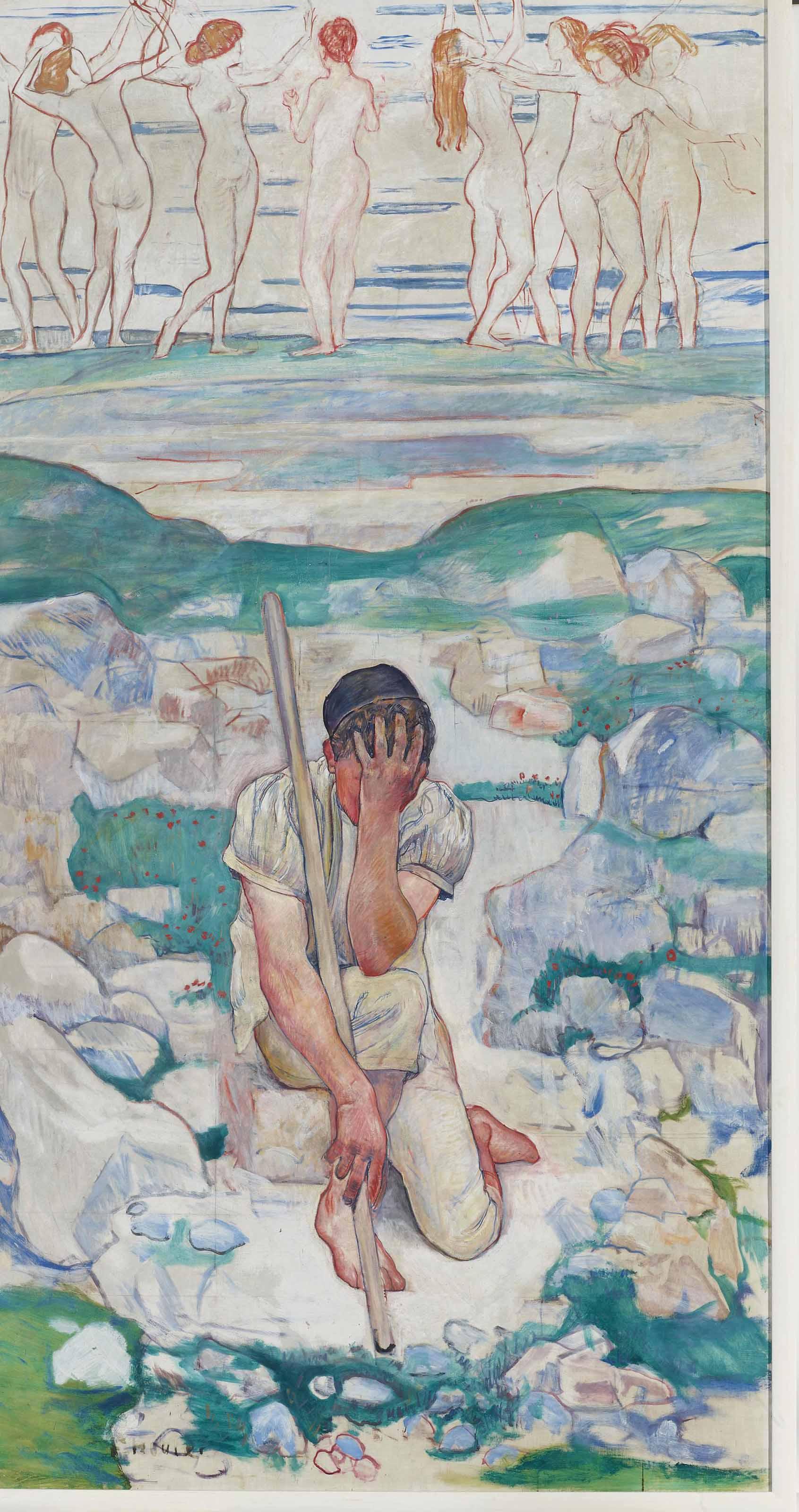 Der Traum des Hirten, 1896