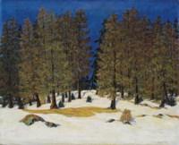 Wald-Frühling, um 1912