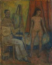 Le peintre et son modèle, 1943