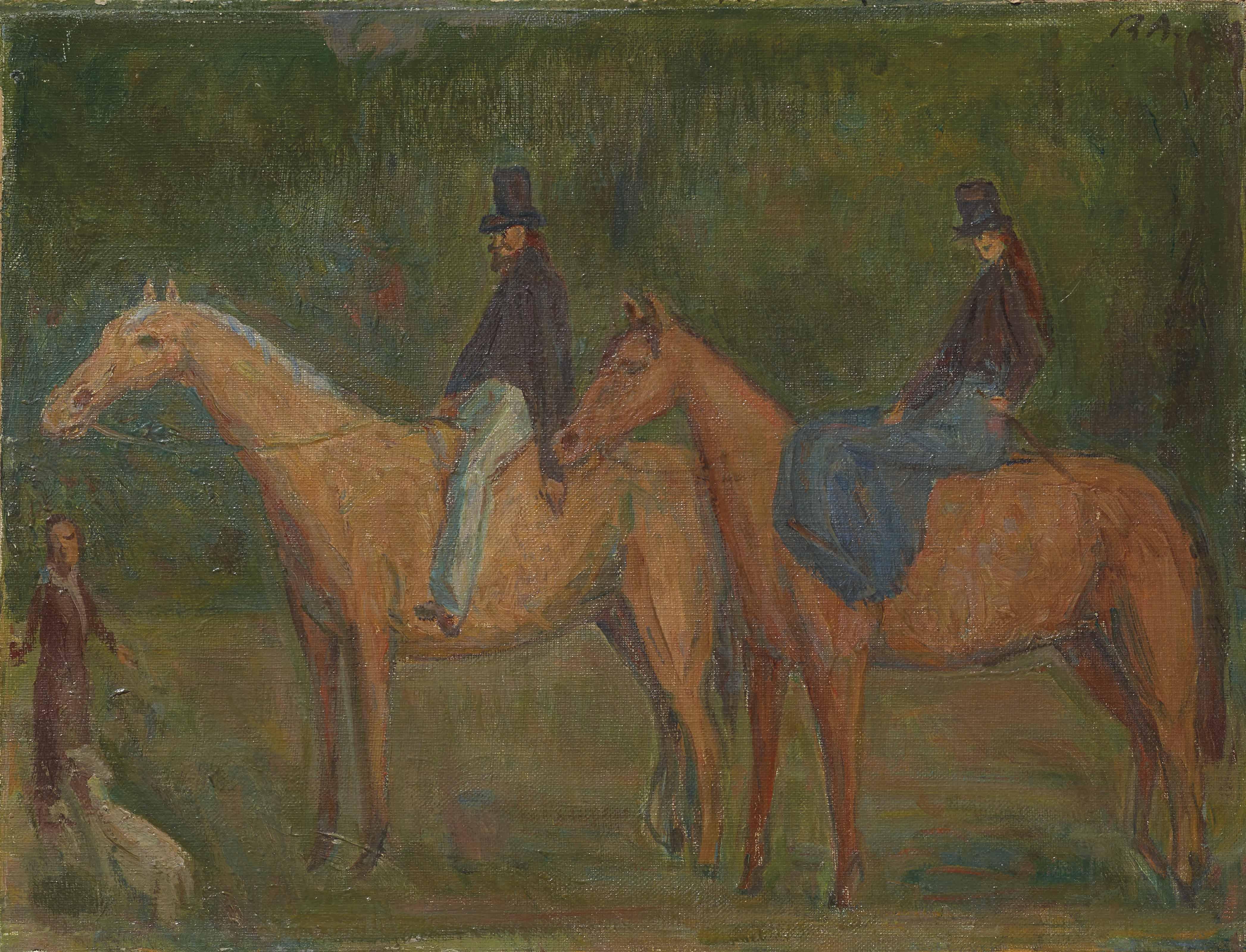 RENÉ AUBERJONOIS (1872-1957)