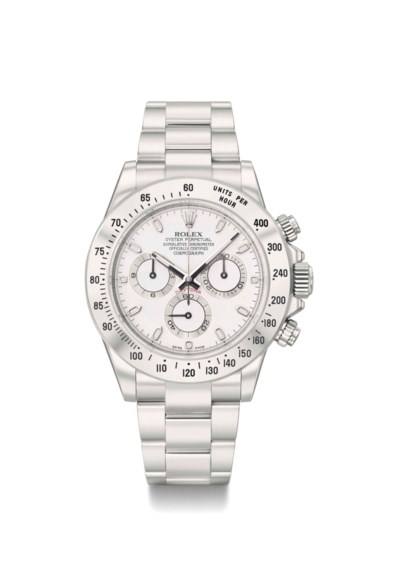 Rolex. A very rare and attractive stainless steel