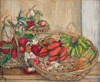 Still Life with Tropical Fruits