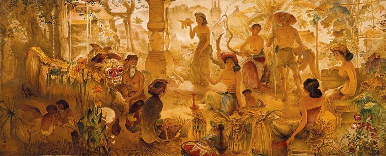 LEE MAN FONG (INDONESIAN, 1913