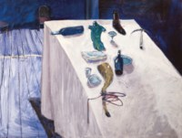 Dinner Table After Matisse
